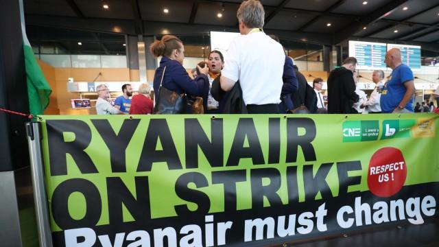 Streik Ryanair - Belgien