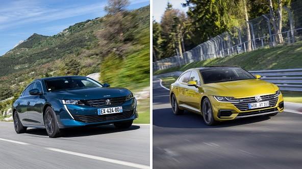 Autotest Sport-Limousinen im Vergleich