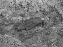 Erschossener Zivilist während der deutschen Besatzungszeit in Polen, 1939