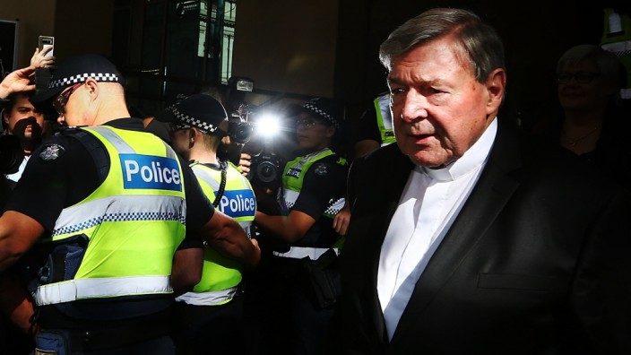 Cardinal George Pell Committed To Stand Trial On Historical Child Abuse Charges