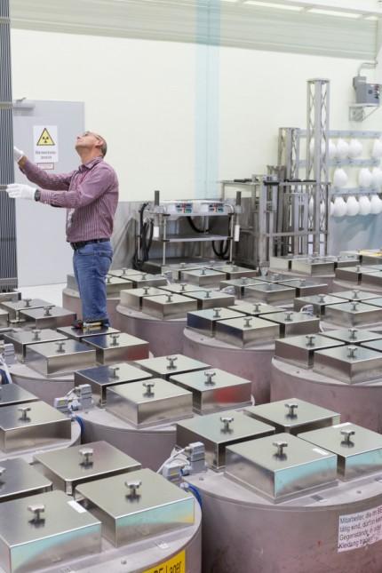 Brennelemente-Produktion