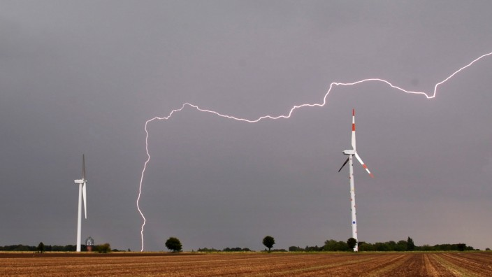Unwetter in Niedersachsen