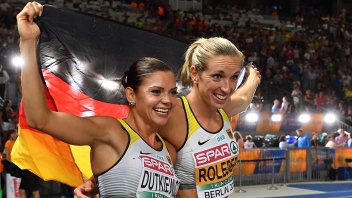 Qualität zuerst glatt 100% Zufriedenheit Silber und Bronze im Hürdensprint: Halli Galli - Sport ...