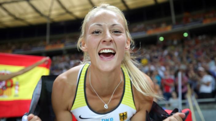Leichtathletik EM Silber, Bronze und Bronze Sport