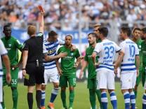 11 08 2018 Fussball GER Saison 2018 2019 2 Bundesliga 2 Spieltag MSV Duisburg VfL Bochum