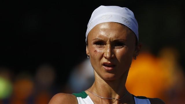Die Weißrussin Wolha Masuronak