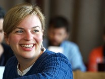 Katharina Schulze auf Grünen-Parteitag in München, 2018