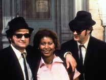Film Still from The Blues Brothers Dan Aykroyd Aretha Franklin John Belushi © 1980 Universal PUBL