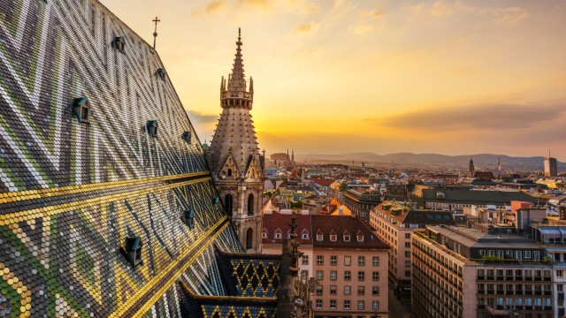 Wiener Stephansdom *** St Stephens Cathedral in Vienna PUBLICATIONxINxGERxSUIxAUTxONLY photocase_12