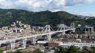 A 10 Autobahnbrücke in Genua
