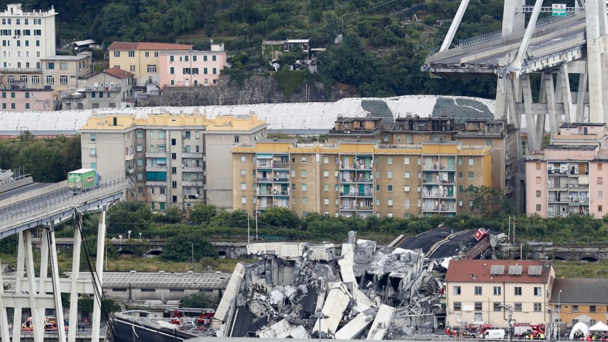 Ponte Morandi in Genua - Einsturzrisiko war bekannt