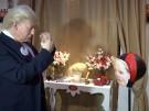 Trump als Live-Figur in Berlin (Vorschaubild)