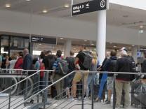 Terminal am Bremer Flughafen wurde geräumt