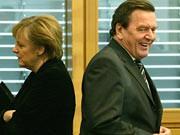 Merkel, Schröder, ddp