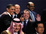 G-20-Treffen in London, Foto: AFP