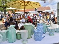 Dießen Seeanlagen, 43. Kunsthandwerkmarkt; Diessen Kunsthandwerkermarkt