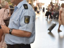 Bundespolizei wirbt um Auszubildende in München, 2018