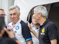 Fußball Testspiele BVB Sommer Trainingslager 2018 Borussia Dortmund SSC Neapel am 07 08 2018 i