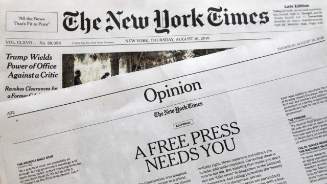 Medien Trump