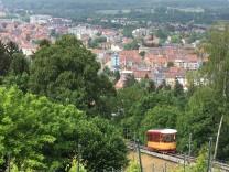 KVVH Geschaeftsbericht 2008 Turmbergbahn in Karlsruhe Durlach Pressefoto