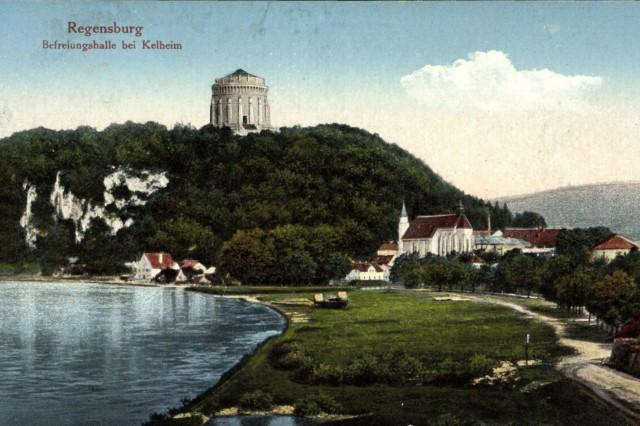 Regensburg in der Oberpfalz Bayern Befreiungshalle bei Kelheim AUFNAHMEDATUM GESCHÄTZT