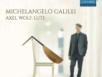 CD-Cover Michelangelo Galilei Axel Wolf