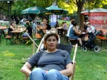 Nußbaumpark Urban league Biergarten Zehra Spindler