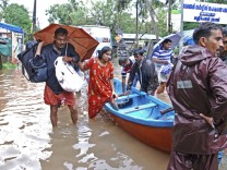 Monsun - Überschwemmungen in Indien