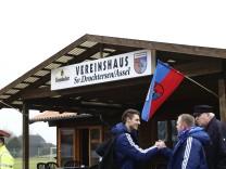 SV Drochtersen/Assel v 1. FC Germania Egetorf/Langreder - Regionalliga Nord; Drochtersen FC Bayern Vereinsheim Assel DFB-Pokal
