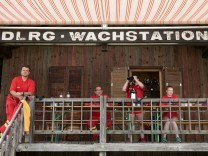 DLRG Oberschleißheim, Wachstation der DLRG am Regattaparksee in Oberschleißheim