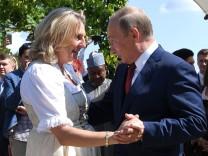 Karin Kneissl Hochzeit Putin