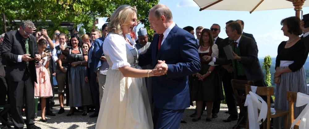 Karin Kneissl Hochzeit Wladimir Putin