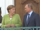 Merkel trifft Putin zu Gesprächen (Vorschaubild)