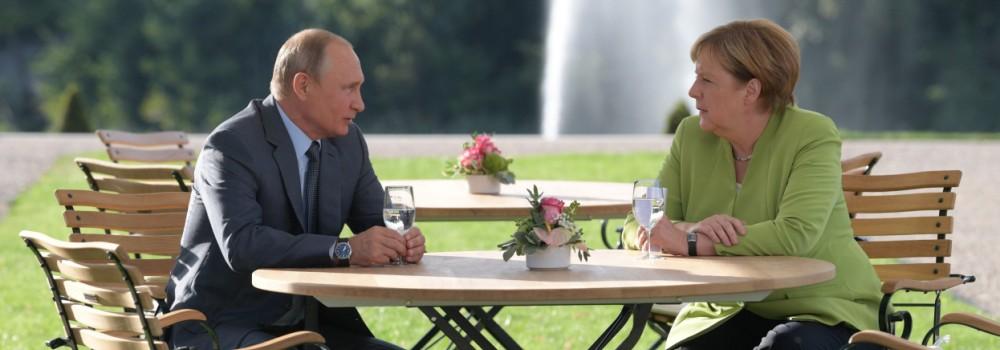 Merkel Putin Meseberg