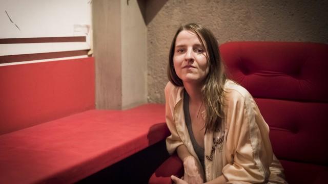 Helene Hegemann Die Schriftstellerin und Regisseurin Helene Hegemann präsentiert in Berlin ihren Fil