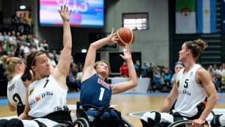 Rollstuhlbasketball WM 2018 in Hamburg Gruppenphase Frauen Deutschland GER gegen Vereinigte Staat