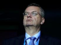 DFB-Präsident Reinhard Grindel beim UEFA Super Cup