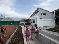 neues Clubhaus, Tennisclub Blutenburg in Obermenzing, Meyerbeerstr. 113