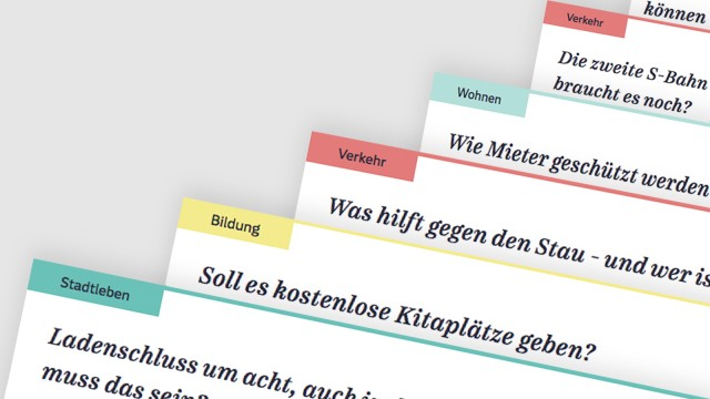Politik in München Landtagswahl in Bayern