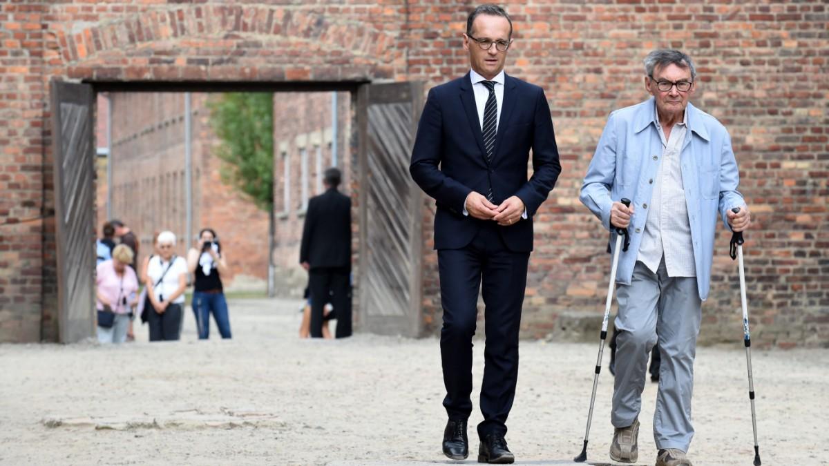 Außenminister Heiko Maas im früheren KZ Auschwitz