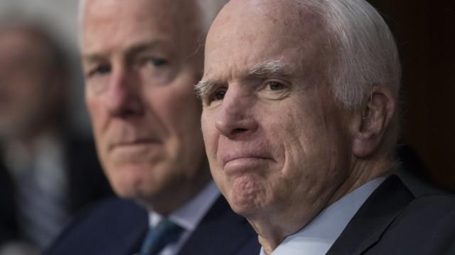 John McCain, John Cornyn