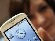 Work-Life-Balance Rund um die Uhr im Job, Smartphone, ddp