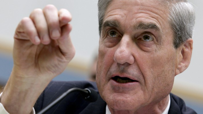 FILE PHOTO: Robert Mueller testifies on Capitol Hill in Washington