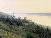 Isaak Levitan 1889: Abend - Goldenes Pljos
