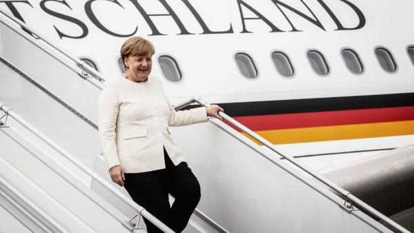 Kanzlerin Merkel trifft Präsident Putin