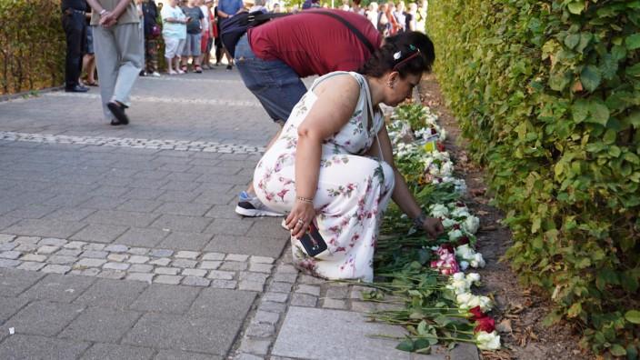 Trauermarsch durch Offenburg