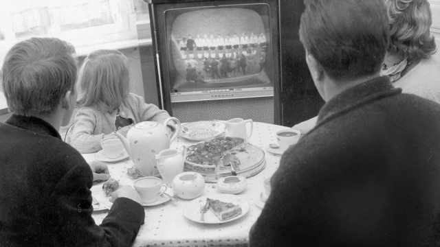 Fernsehzuschauer, 1962
