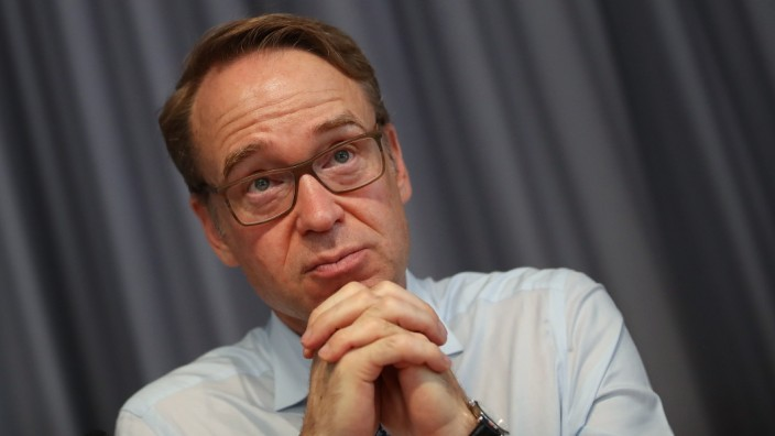 Jens Weidmann, Bundesbank President, Speaks To Foreign Journalists' Association