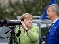 Bundeskanzlerin Angela Merkel besucht Georgien