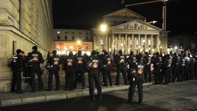 Pegida Polizei Demonstrationen DSGVO
